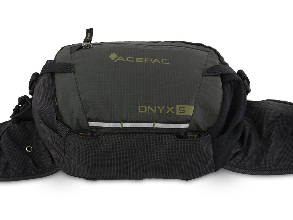 Onyx 5 - Hide strap system